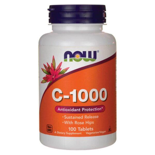 Now Foods C-1000 Vitamina C