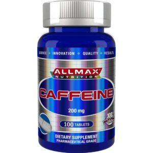 allmax nutrition caffeine 200mg