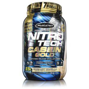 muscletech nitro-tech casein gold 2.2 lbs