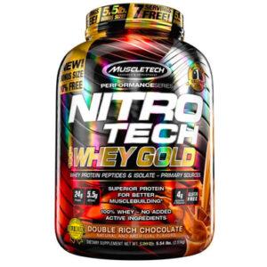 nitro tech whey gold 5.5 lbs