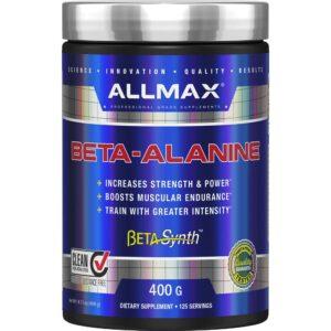 allmax beta-alanine 400 grms