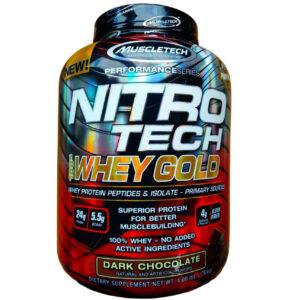 nitro tech whey gold 4 lbs