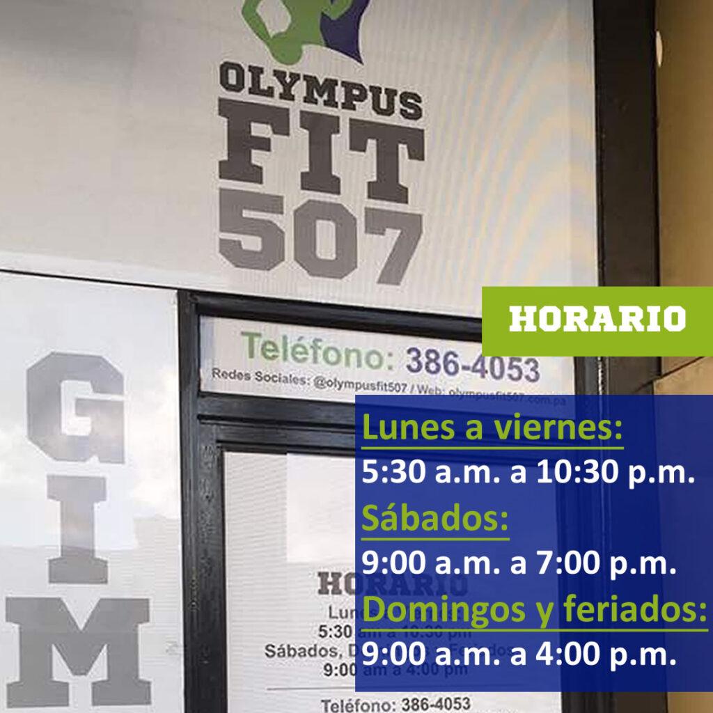 horario olymusfit507