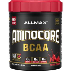 allmax aminocore bcaa 90 servs